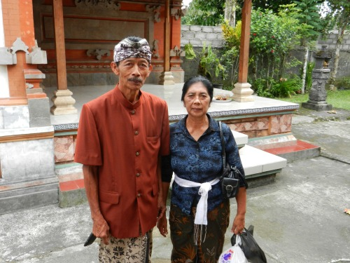 Ketut's Mom and Dad