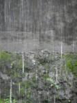 Rain can be artistic too!