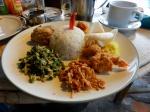 Nasi Campur in Candidasa (alla Pandan)
