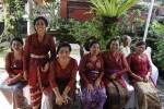 Ketut's Mom (standing) and sisters